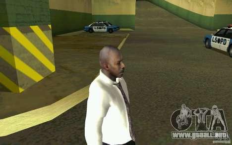 Civil HD para GTA San Andreas sucesivamente de pantalla