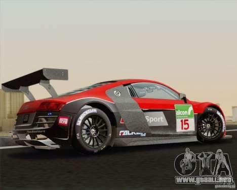 Audi R8 LMS v2.0.1 para GTA San Andreas left