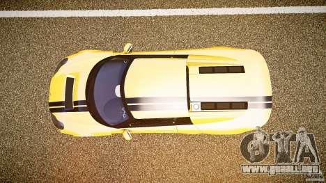 Rossion Q1 2010 v1.0 para GTA 4 vista hacia atrás