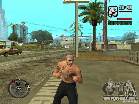 Blatnye tatuajes para GTA San Andreas tercera pantalla