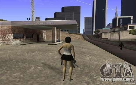 Kaileena big fan para GTA San Andreas tercera pantalla