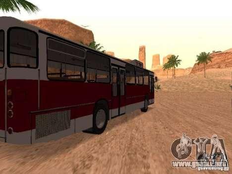 MAN SL200 Exclusive v.1.00 para GTA San Andreas vista posterior izquierda
