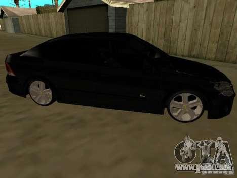 Chevrolet Vectra Elite 2.0 para GTA San Andreas left