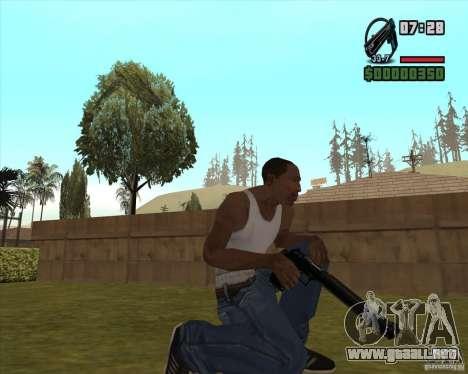 Black Chrome Eagle para GTA San Andreas tercera pantalla