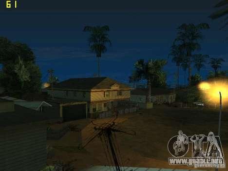 GTA SA IV Los Santos Re-Textured Ciy para GTA San Andreas quinta pantalla