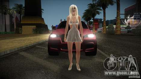 BMW X6 Lumma para vista lateral GTA San Andreas