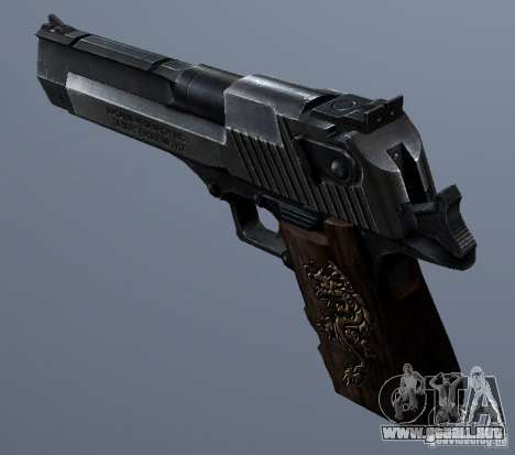 Desert Eagle - Old model para GTA San Andreas
