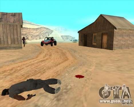Duelo de vaquero para GTA San Andreas quinta pantalla