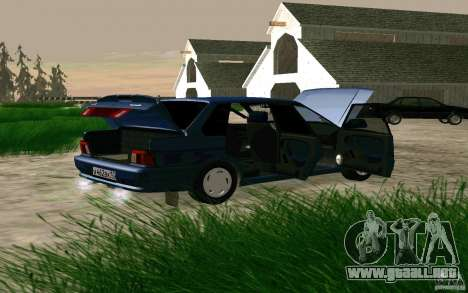 VAZ 2115 para la visión correcta GTA San Andreas