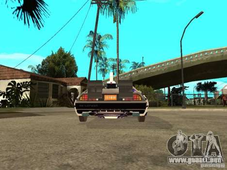 DeLorean DMC-12 para GTA San Andreas
