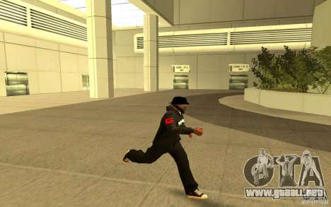 Chaqueta de punto (G) para GTA San Andreas quinta pantalla