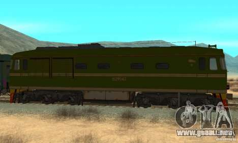 Custom Graffiti Train 2 para GTA San Andreas left