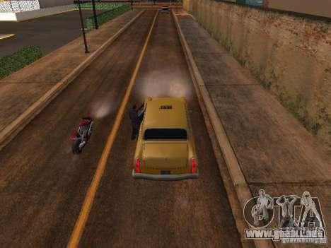 Salto de motocicleta en mi coche para GTA San Andreas tercera pantalla
