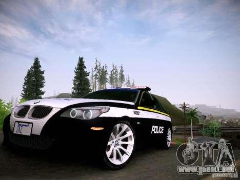 BMW M5 E60 Police para GTA San Andreas