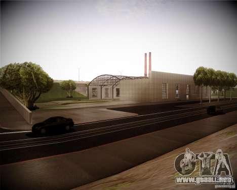 Una colección de mods gráficos para GTA San Andreas segunda pantalla
