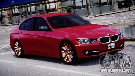 BMW 335i E30 2012 Sport Line v1.0 para GTA 4 vista interior
