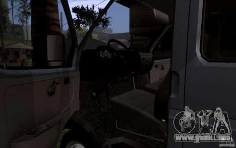 Gacela 33023 para visión interna GTA San Andreas