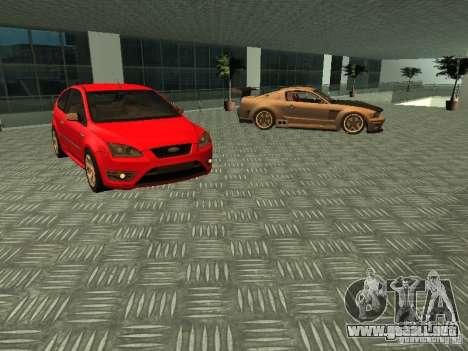 Ford Auto Show para GTA San Andreas quinta pantalla