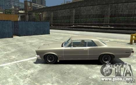 Pontiac GTO v1.1 para GTA 4 left