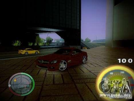 Velocímetro de Centrale para GTA San Andreas tercera pantalla