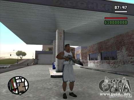 M4 de l. a. t. s. k. e. r. (a) para GTA San Andreas segunda pantalla