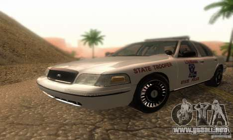 Ford Crown Victoria Louisiana Police para GTA San Andreas