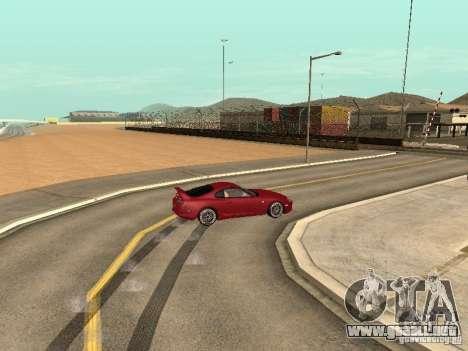 Toyota Supra para visión interna GTA San Andreas