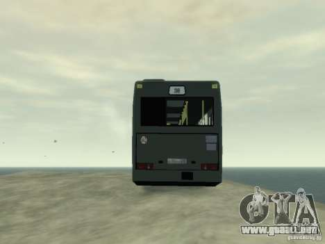 MAZ 103 Bus para GTA 4 vista interior
