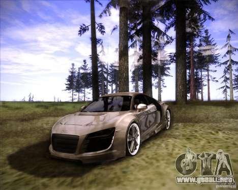 Audi R8 para la visión correcta GTA San Andreas