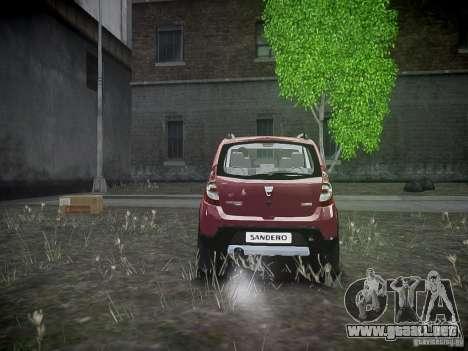 Dacia Sandero Stepway para GTA 4 visión correcta