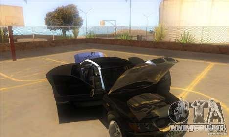 BMW 325i E46 v2.0 para la vista superior GTA San Andreas
