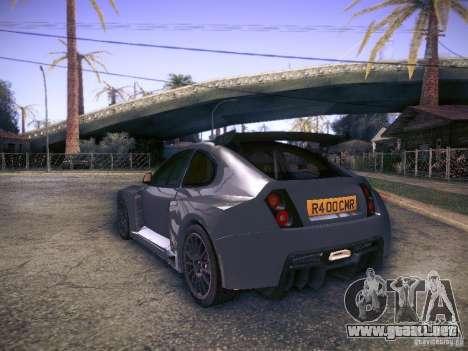 Colin McRae R4 para GTA San Andreas left