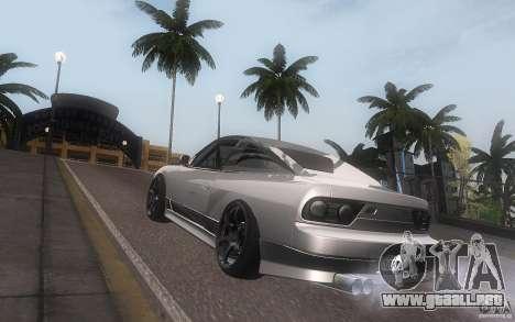 Nissan 180sx v2 para la visión correcta GTA San Andreas