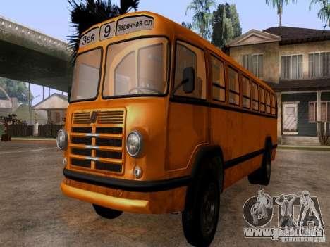 LIAZ 158 para la visión correcta GTA San Andreas