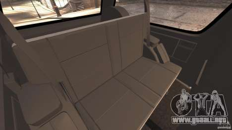 GMC Typhoon v1.1 para GTA 4 interior