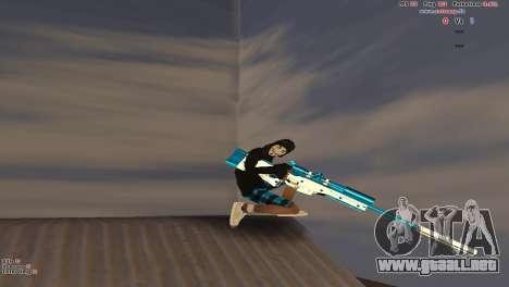 Sniper Rifle para GTA San Andreas sucesivamente de pantalla