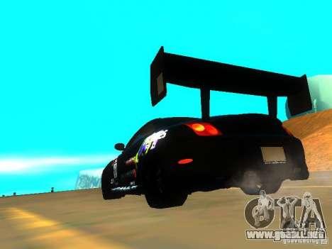 Lexus SC430 Daigo Saito v2 para GTA San Andreas vista posterior izquierda