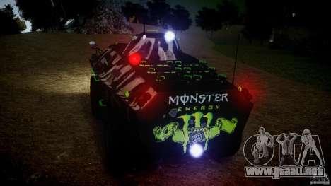 Monster APC para GTA 4 vista hacia atrás