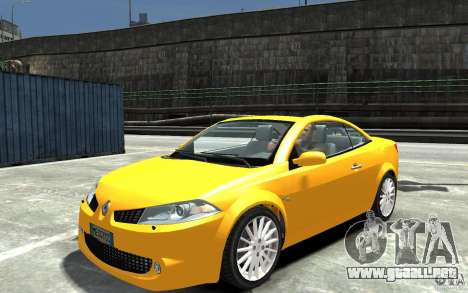 Renault Megane CC Kit RS para GTA 4