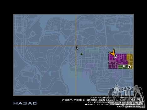 TBOGT HUD para GTA San Andreas sucesivamente de pantalla