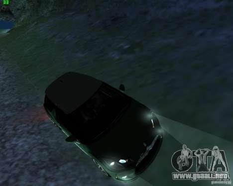 Citroen DS3 2011 para GTA San Andreas vista posterior izquierda