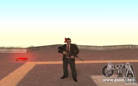 Unique animation of GTA IV V3.0 para GTA San Andreas sucesivamente de pantalla