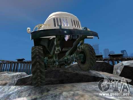 ZIL 131 para GTA 4 ruedas