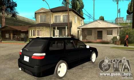 Subaru Legacy Station Wagon para la visión correcta GTA San Andreas