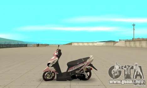Honda Vario-Velg Racing para GTA San Andreas left