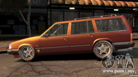 Volvo 945 Wentworth R Ridiculous Drift para GTA 4 left