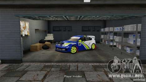 Subaru Impreza WRX STI Rallycross BFGoodric para GTA 4