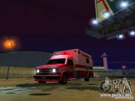 Ambulance 1987 San Andreas para la vista superior GTA San Andreas