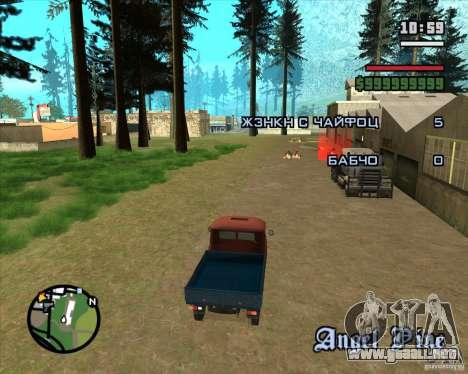Árboles de Navidad de Razvozčik para GTA San Andreas tercera pantalla