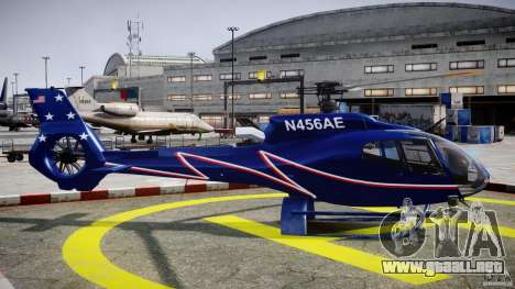 Eurocopter EC130B4 NYC HeliTours REAL para GTA 4 vista interior